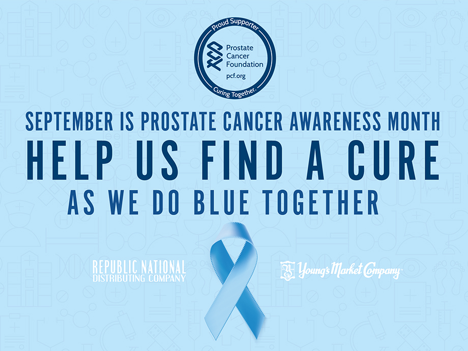 RNDC/Young's 'DoBlue' for Prostate Cancer Awareness Month